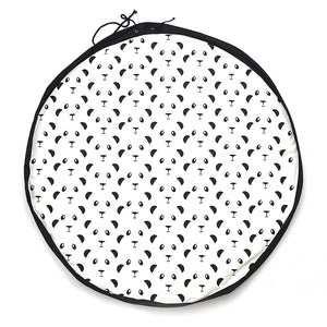 Panda Face Play & Go Mat
