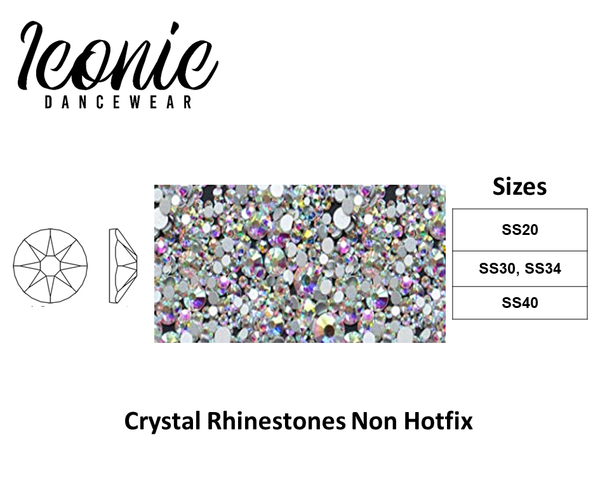 Rhinestones - Non Hot Fix - Crystal AB
