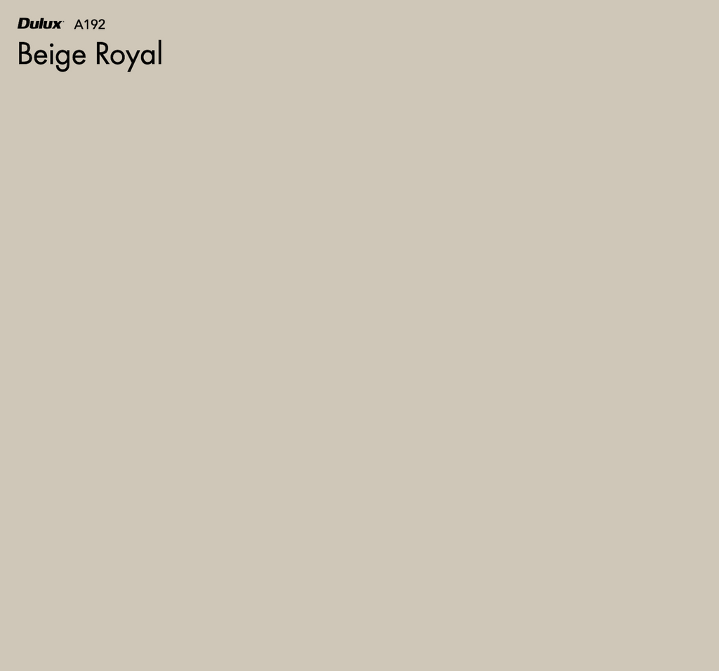 Dulux Beige Royal