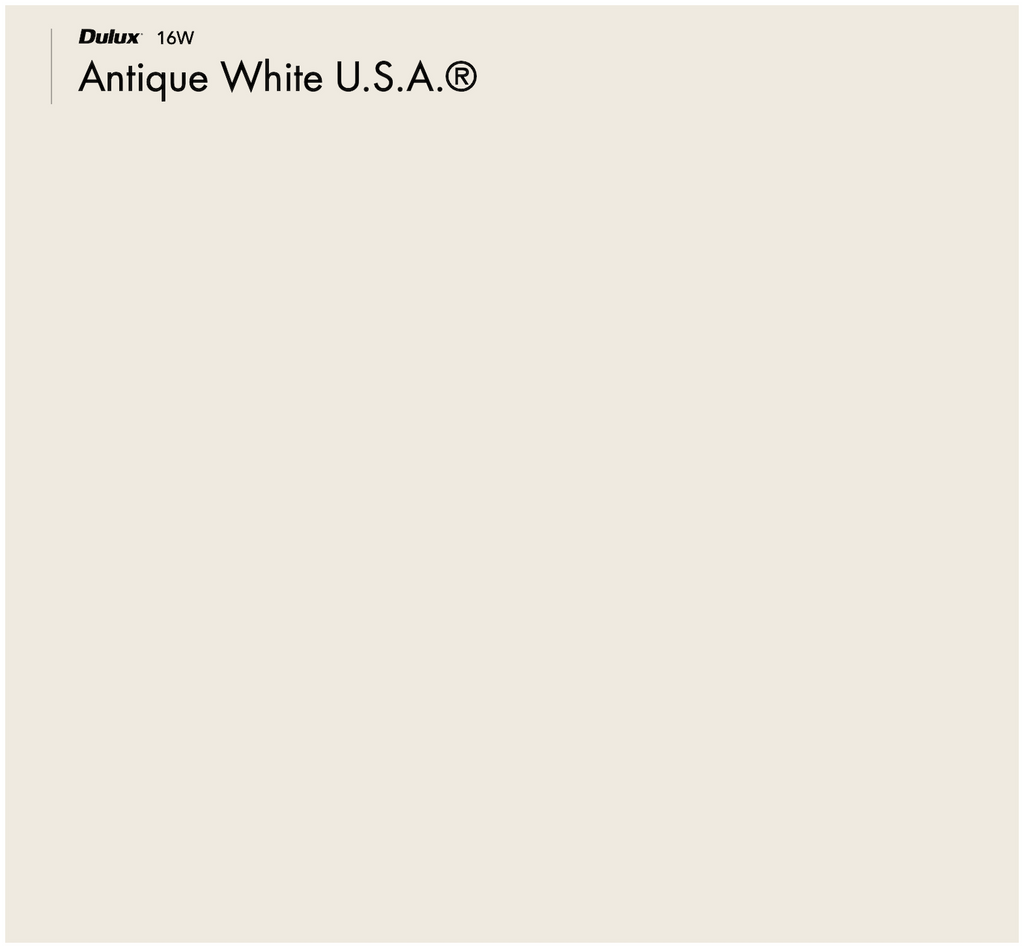 Dulux Antique White USA