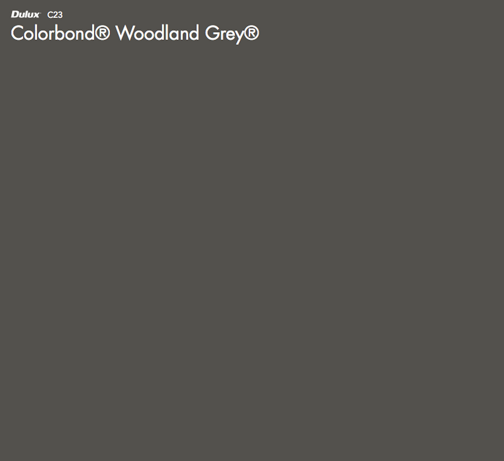Dulux Colorbond Woodland Grey
