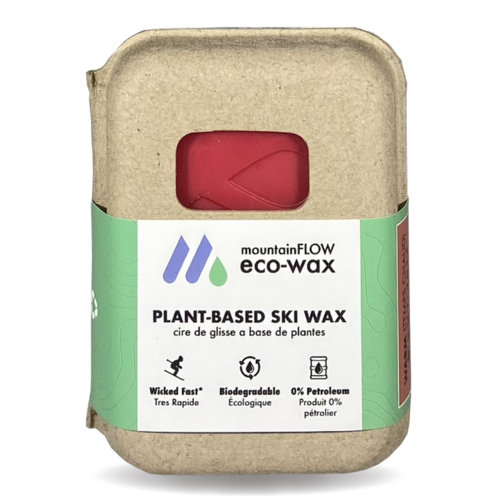 Open image in slideshow, mountainFLOW eco-wax. Eco-friendly, biodegradable, ski and snowboard wax
