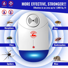 Load image into Gallery viewer, DefenderPro Ultrasonic Pest Repeller 4pack