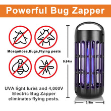 Load image into Gallery viewer, DefenderPro  Mosquito Killer Electronic Insect Bug Zapper UV Light