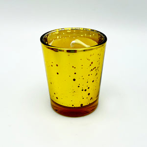 Glass Votive Beeswax Candles