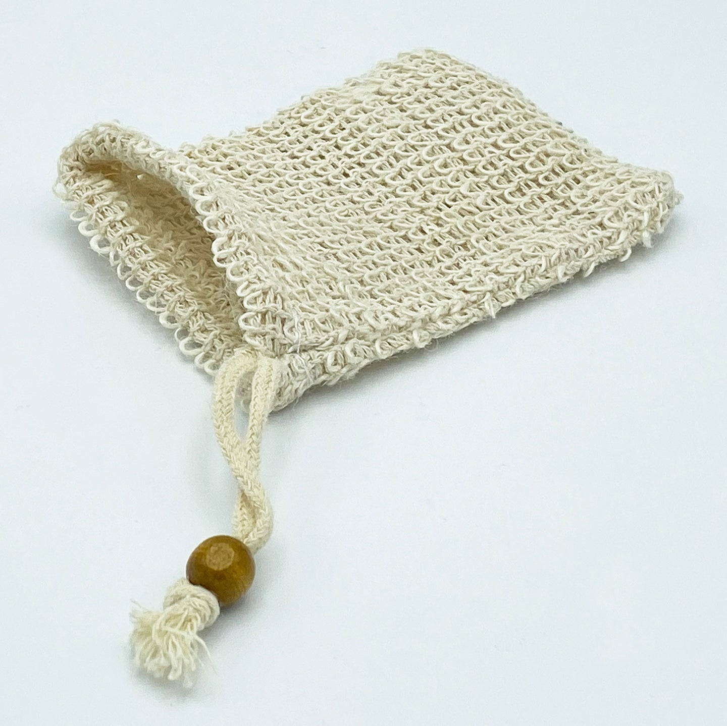 Natural Fiber Soap Bag