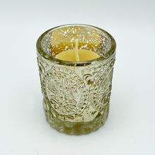 Load image into Gallery viewer, Glass Votive Beeswax Candles
