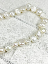Load image into Gallery viewer, 4-5mm (width) Freshwater Pearls for jewellery making (Approx 78)
