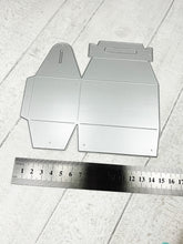 Load image into Gallery viewer, Small gift box metal cutting die - two cutouts make one box (base length 8cm).
