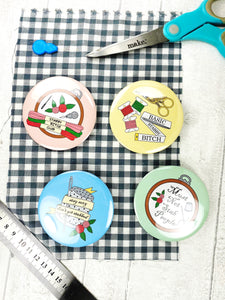 4 x Snarky Dressmaking Sewing Fabric Pattern Weights (Approx 57g each)