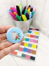 Load image into Gallery viewer, Magnetic Needle Minder / Button Badge  - Thimble