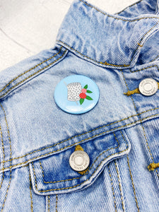 Magnetic Needle Minder / Button Badge  - Thimble