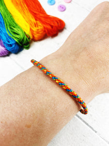 Kumihimo Friendship Bracelet Starter Kit