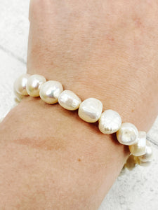 10-11mm Freshwater Baroque Pearls for jewellery making (Approx 41)
