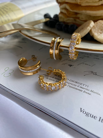 Sparkle Hoops are restocked and is a limited edition collection by Lovisa Barkman