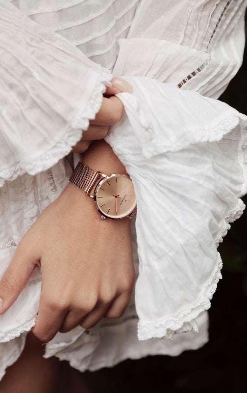Mockberg By Mockberg Rose Gold 28 mm