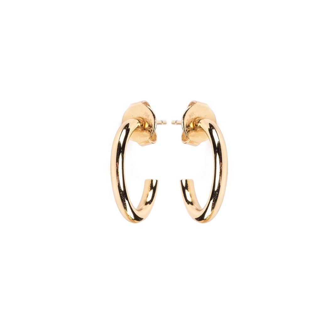 BY LOVISA GOLD HOOPS