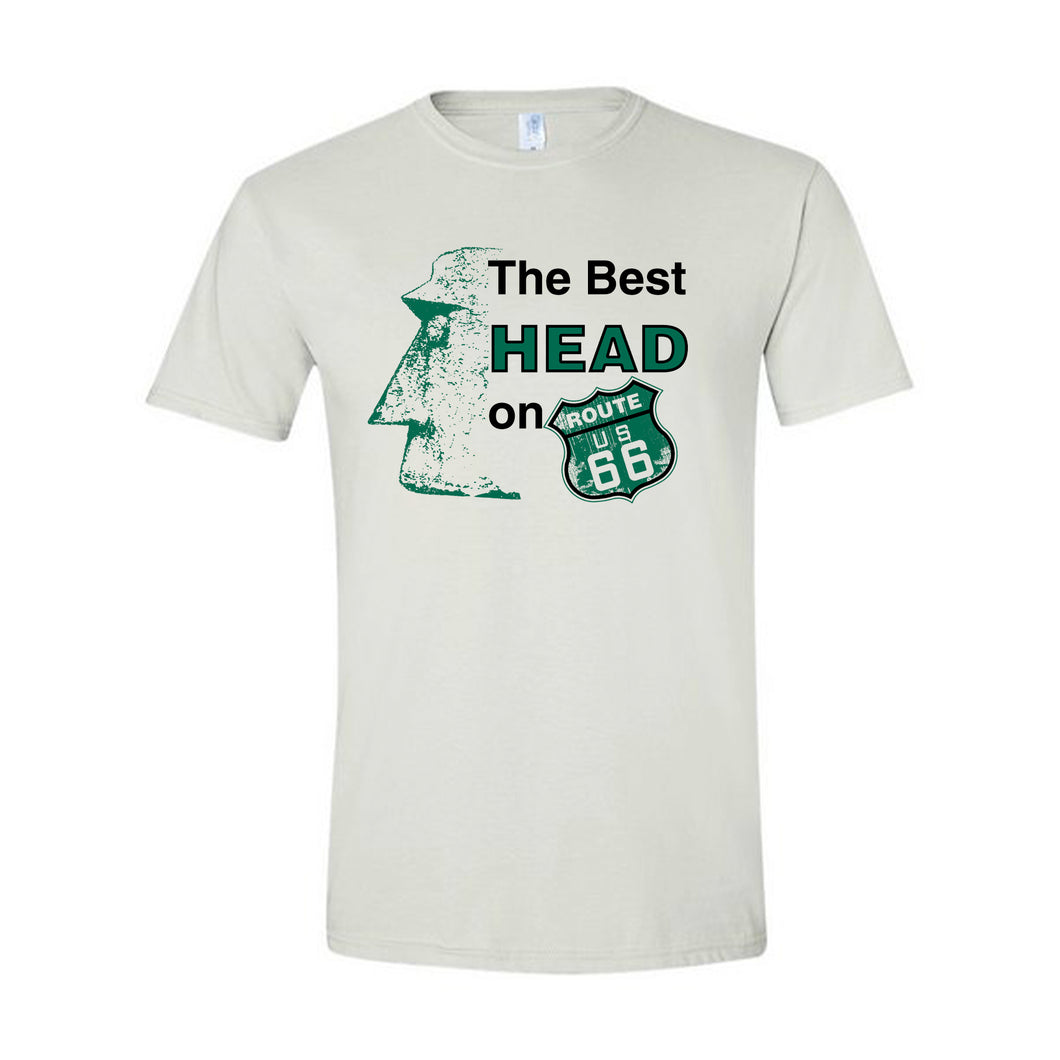 Giganticus Headicus® Best Head on Route 66 Tee