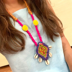 Handcrafted Vintage Tribal Necklace