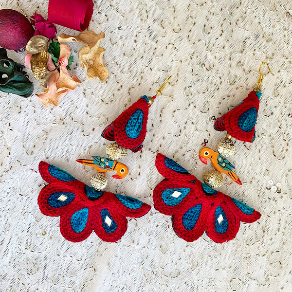 Statement Birdie Earrings