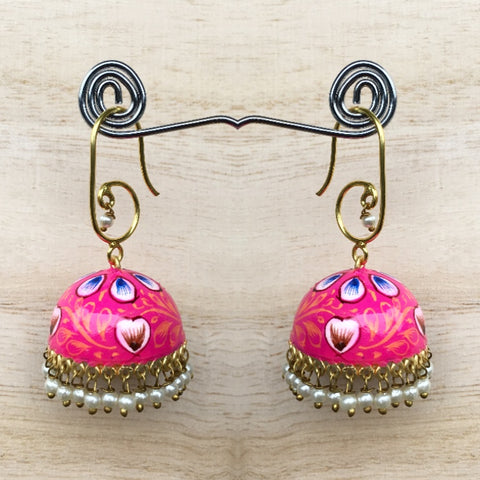Hand Painted Dainty Earrings