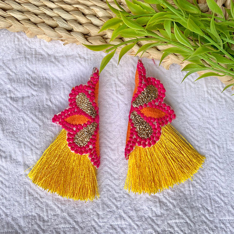 Vibrant Bohemian Earrings