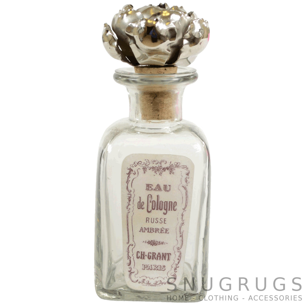 French Vintage Perfume Bottle - Eau de Cologne