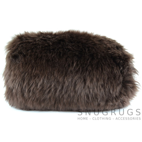 Sheepskin Hand Muff - Brown