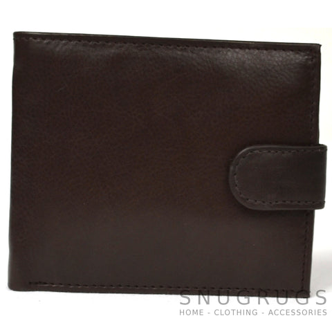 Ethan - Prime Hide Leather Wallet - Brown