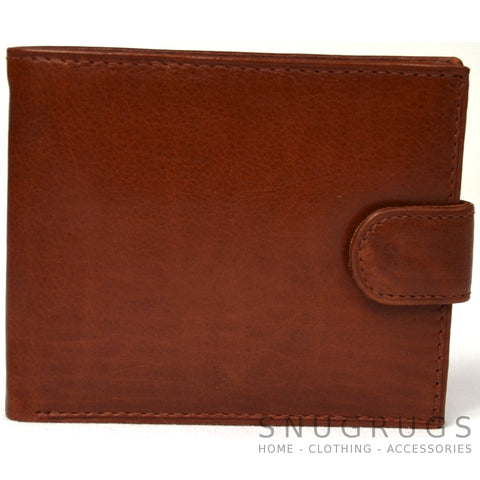 Ethan - Prime Hide Leather Wallet - Tan