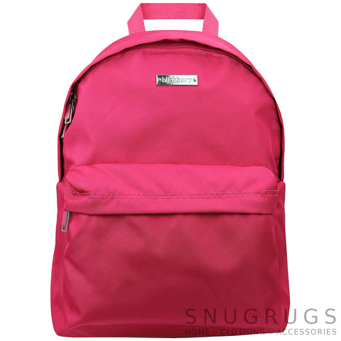 Luxury Lightweight Cabin Bag Ruck Sac- Pink