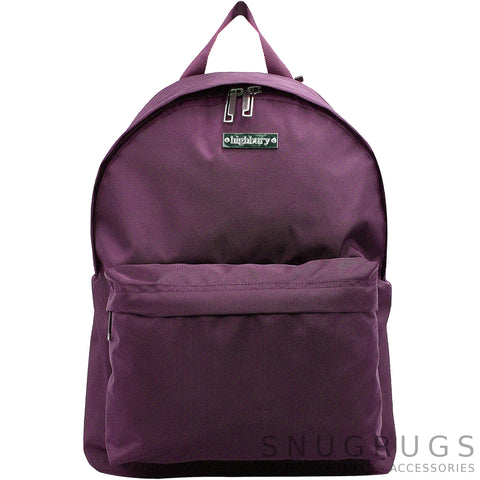Luxury Lightweight Cabin Bag Ruck Sack - Plum