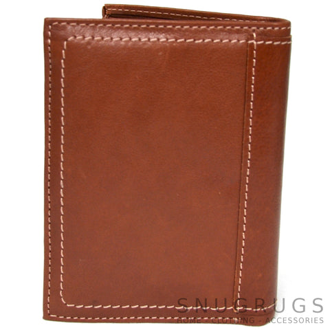 Isaac - Prime Hide Leather Wallet - Tan