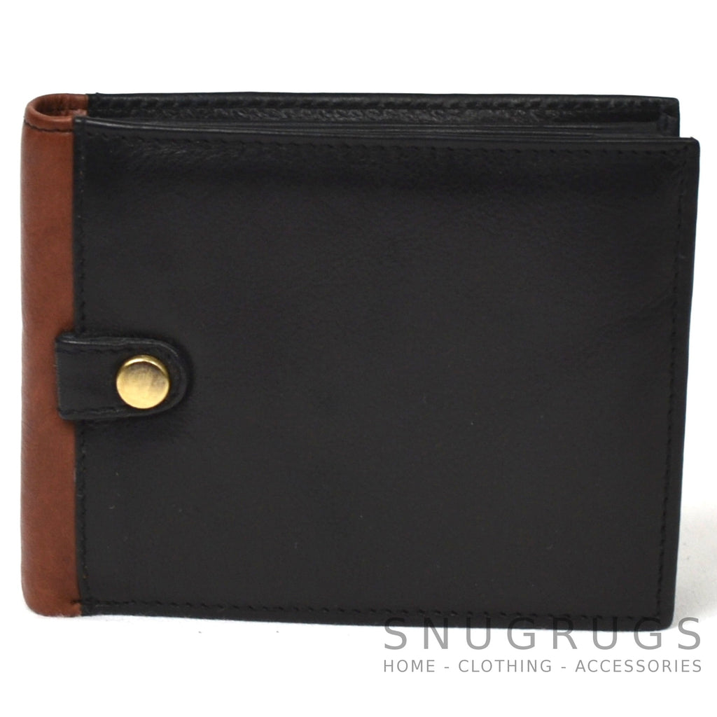Jack - Prime Hide Leather Compact Wallet - Black