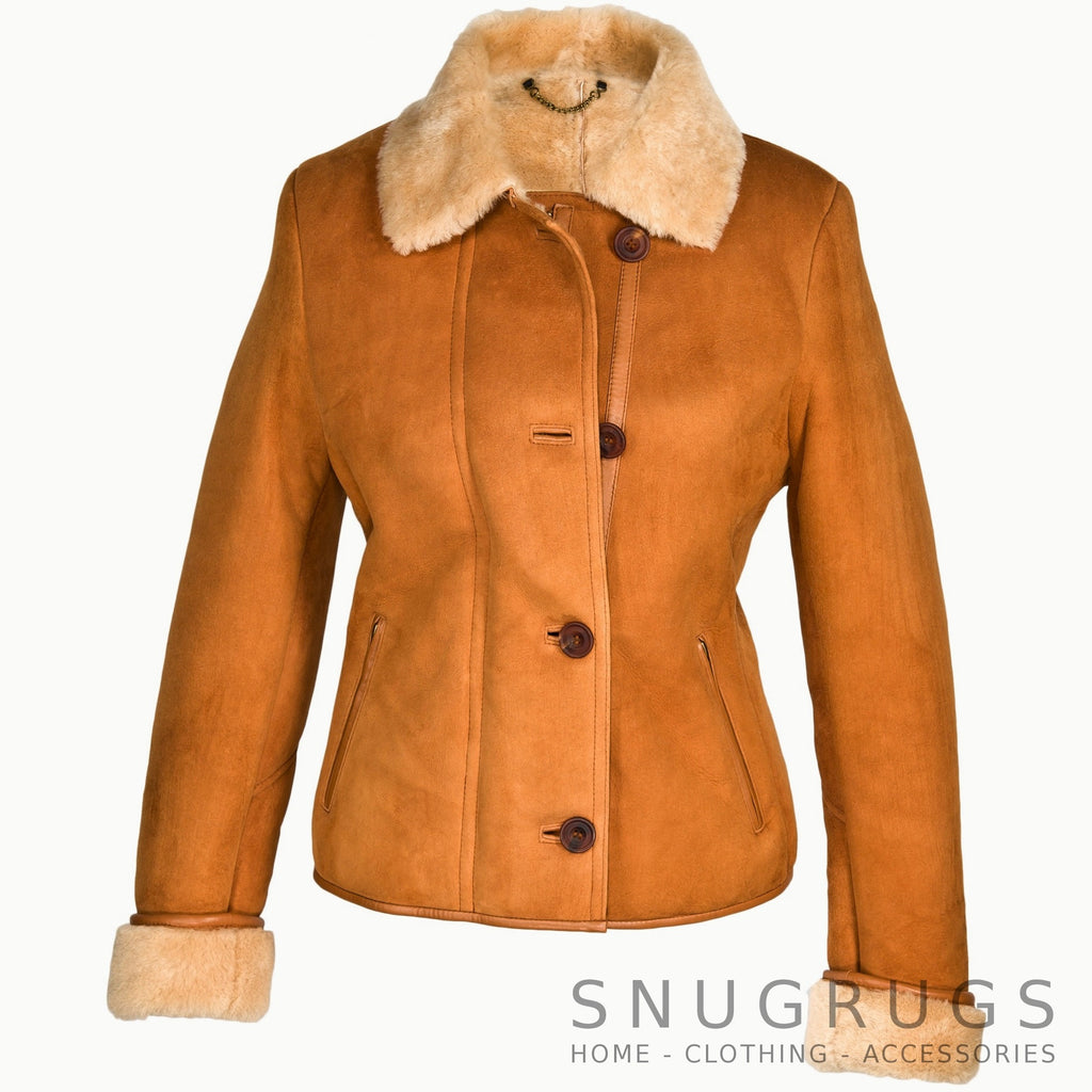 Jenny Sheepskin Ladies Coat