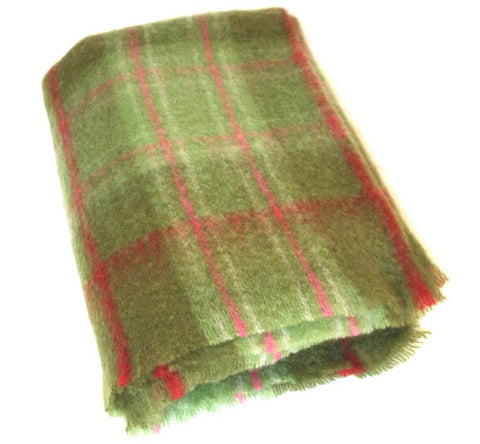 Mohair Blanket - Green