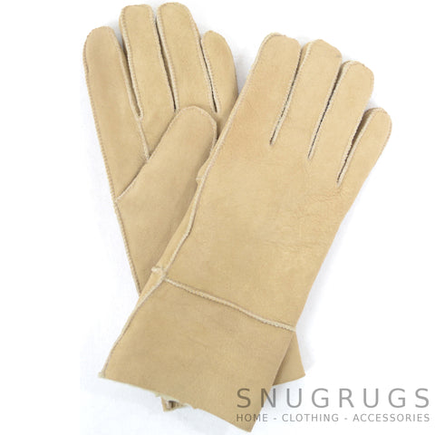 Annie - Full Sheepskin Glove - Spice
