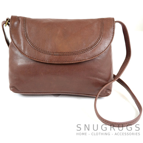 Abigail - Soft Leather Shoulder Bag - Ox