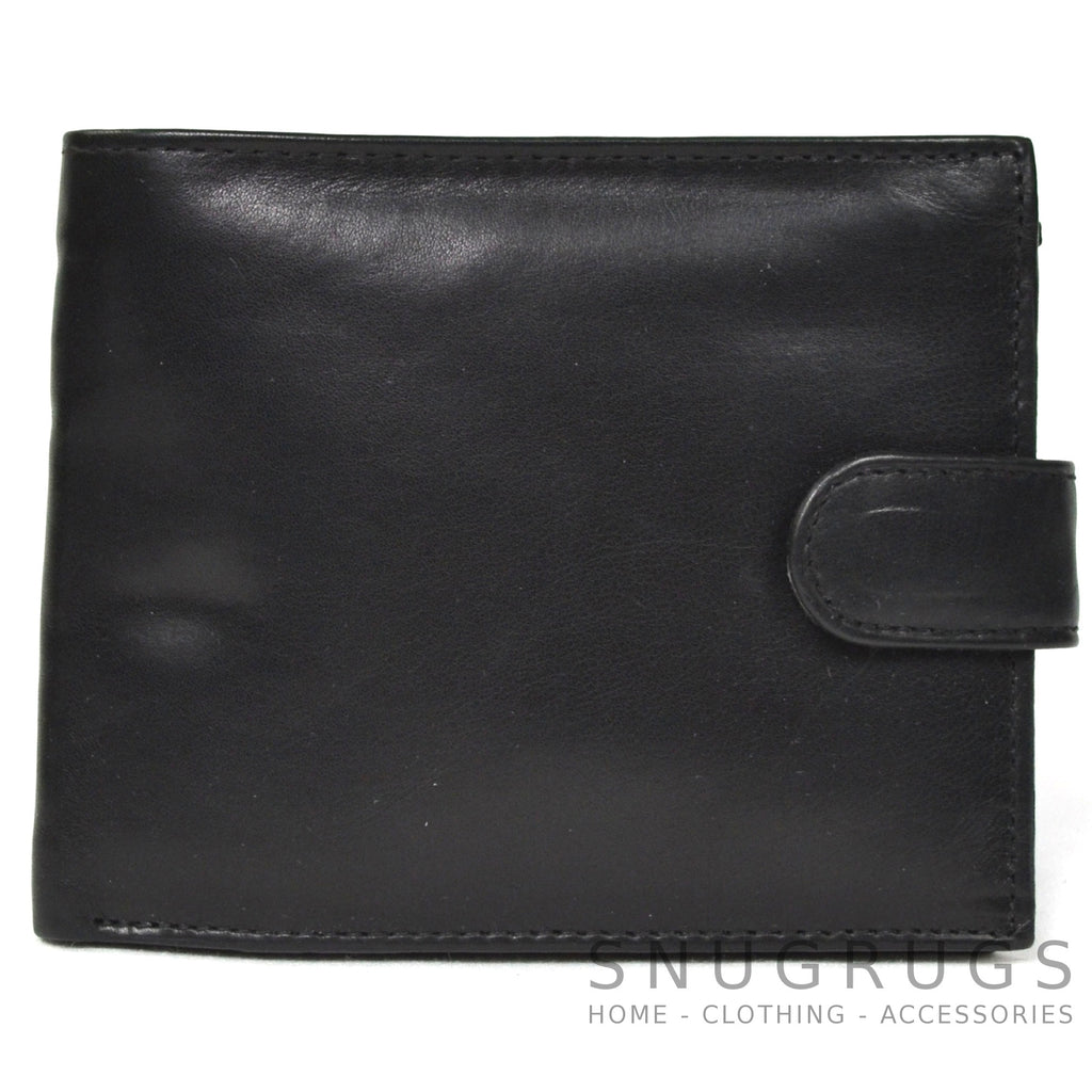 Oscar - Prime Hide Leather Wallet - Black