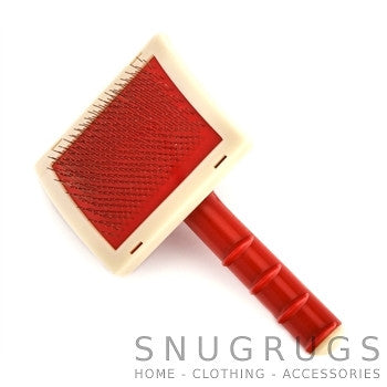 Large Rug Brush - Red