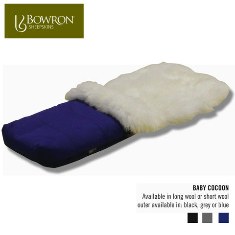 Baby Cocoon Sheepskin Foot Muff