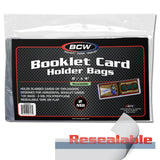 BCW Resealable Bag for Booklet (Horizontal) Toploader (100ct)