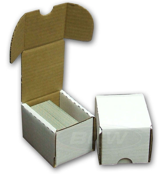 BCW 100ct Cardboard Storage Box Hinged