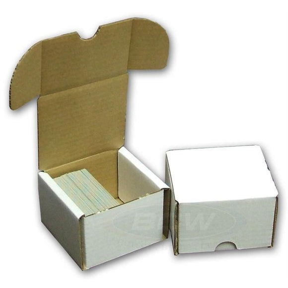 BCW 200ct Cardboard Storage Box Hinged