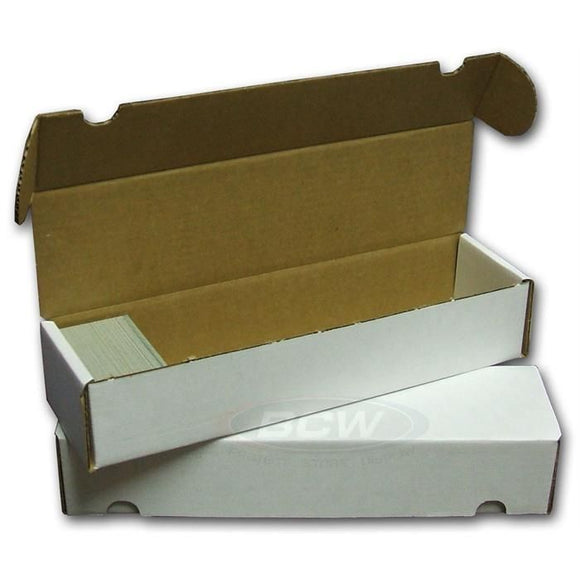 BCW 800ct Cardboard Storage Box Hinged
