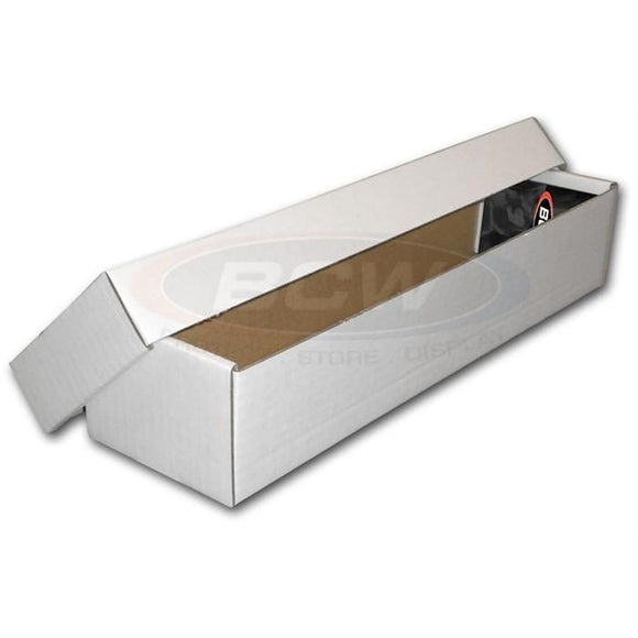 BCW 800ct Cardboard Storage Box w/ Separate Lid