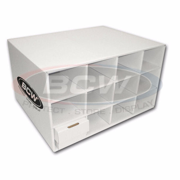 BCW Card House Cardboard Storage Box - 12 spaces