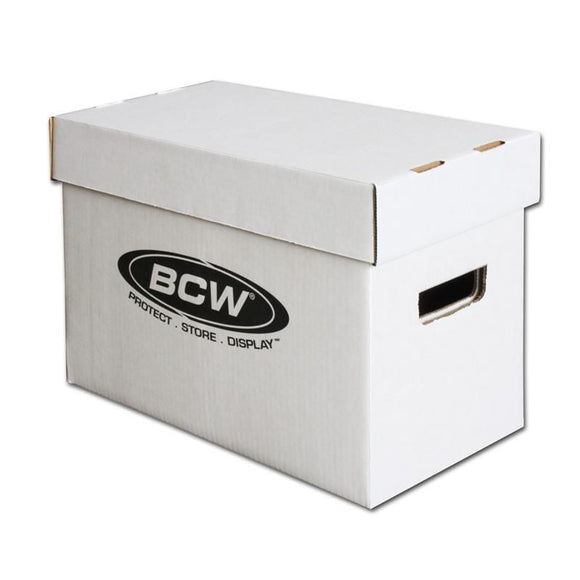 BCW Short Comic Cardboard Storage Box w/ Lid