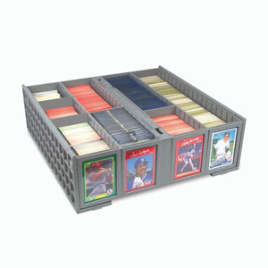 BCW Collectible Card Bin Plastic Storage Box (3,200 ct)