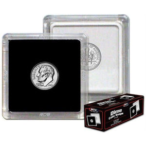"BCW Coin Snap 2""x2"" - US Dime (17.9mm)"